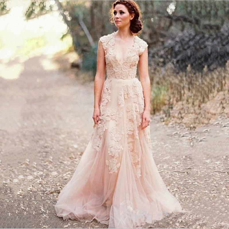 Hippie wedding dresses vintage