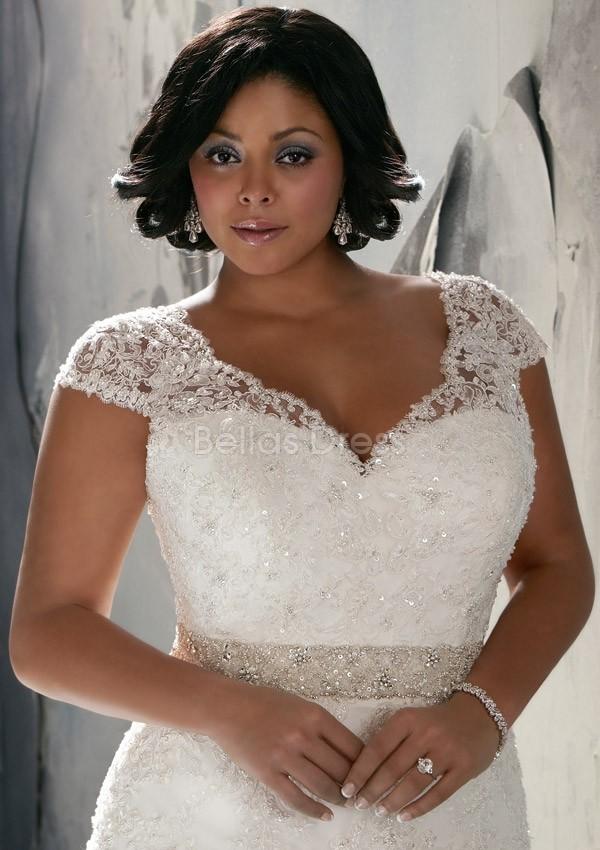 Vintage Plus Size Bridal Dresses