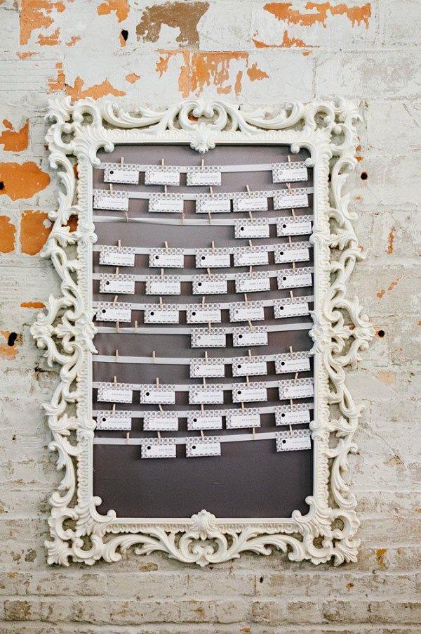 vintage wedding seating chart ideas - Wedding Decor Ideas