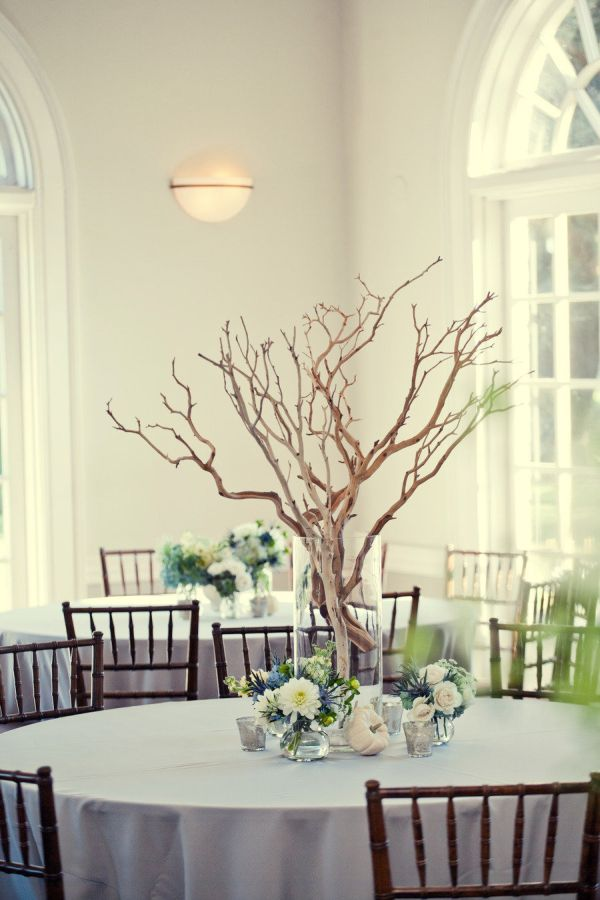 Wedding Fashionable Decorating Twig Centerpieces For