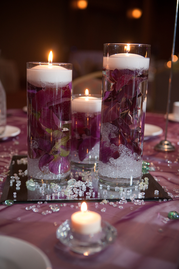 Inexpensive wedding centerpiece ideas for Cheap table decoration ideas