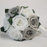 Gray Wedding Bouquets