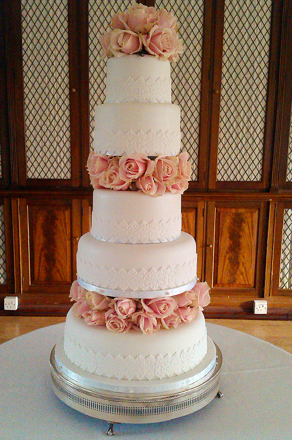 five tier wedding cakes tier wedding cakes 14306