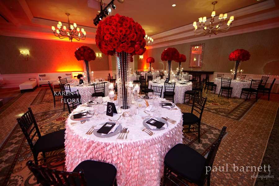 Wedding Decoration Ideas Red