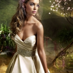 Wedding Dress Satin Silk