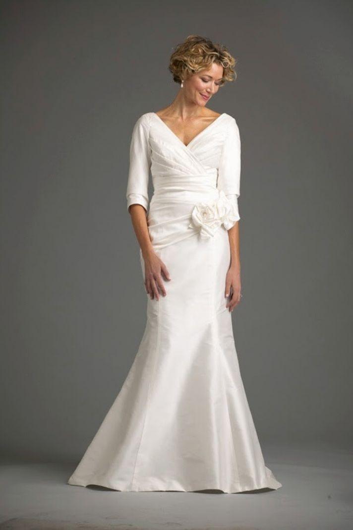 Second wedding dress over 50 for Wedding dresses over 50