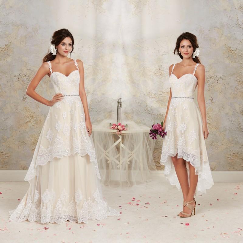 Wedding Dress With Detachable Skirt