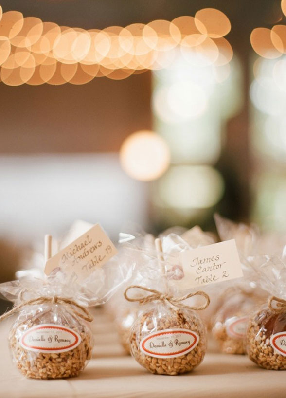 Edible wedding favors junglespirit Gallery