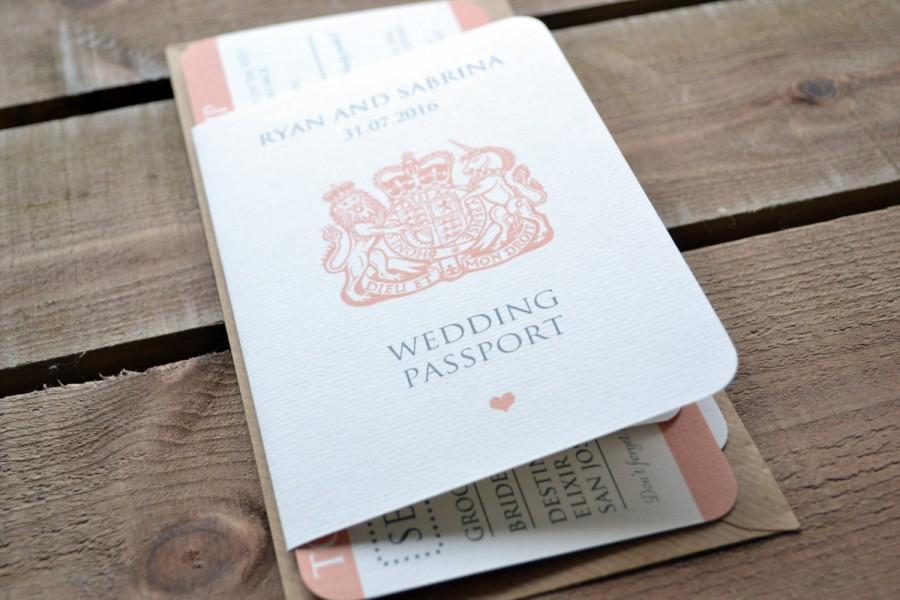 Wonderful Boarding P Wedding Invitations Invitation