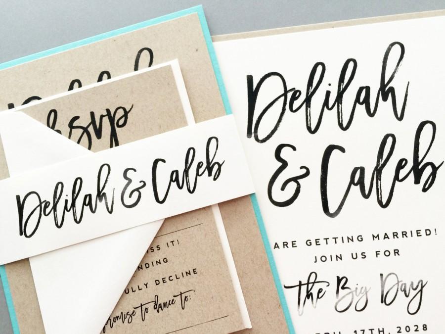 Calligraphy Wedding Invitations: Calligraphy Wedding Invitations