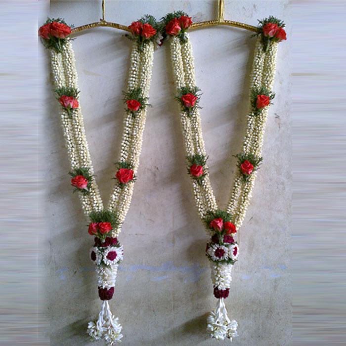 Flower Garlands For Weddings: Wedding Garlands Pictures