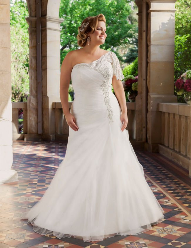 Wedding Dresses For Curvy Figures | Midway Media