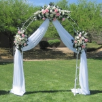 Wedding Arch White