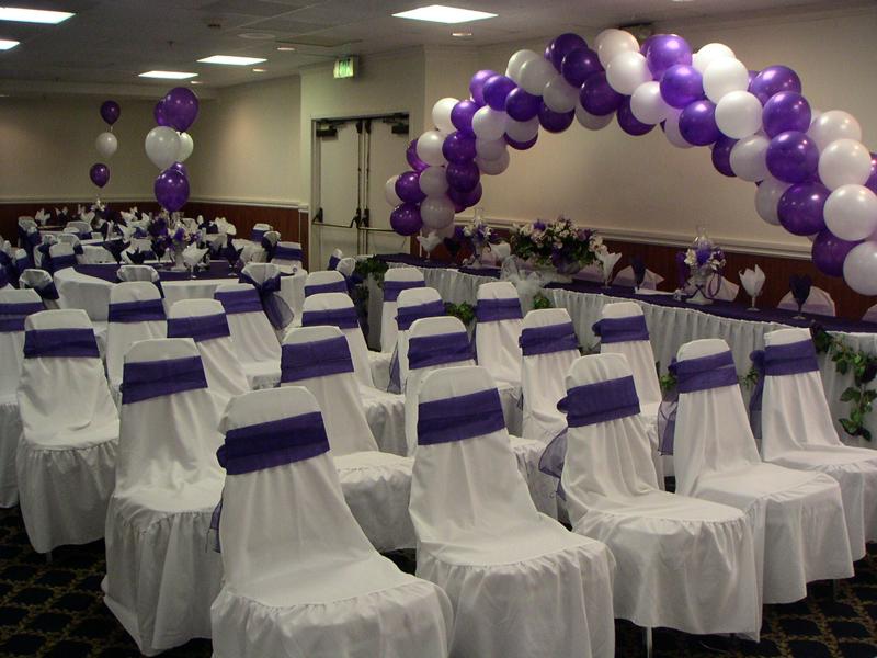 Purple And White Wedding Decor Choice Image Wedding Decoration Ideas