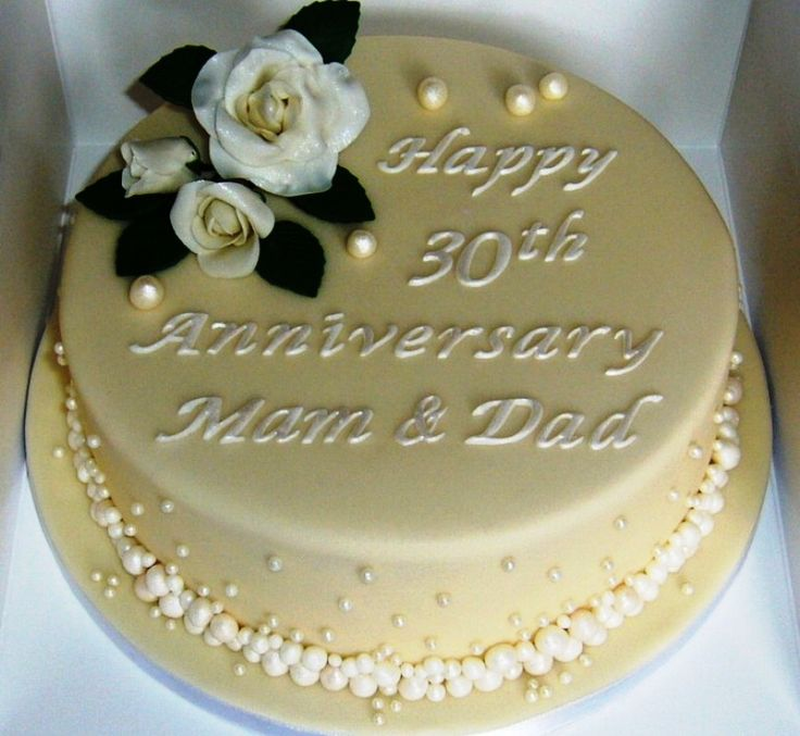 30th Wedding Anniversary Ideas