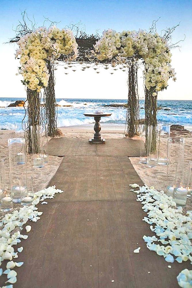 beach wedding decorations wedding in pictures 1573