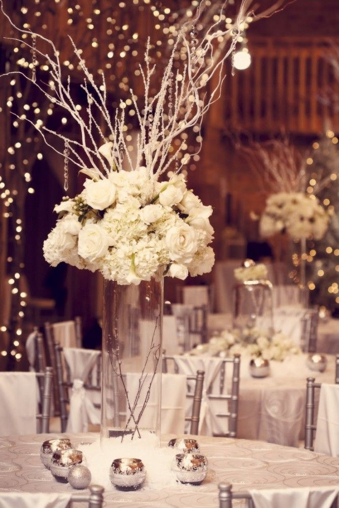 Wedding Centerpieces With Branches