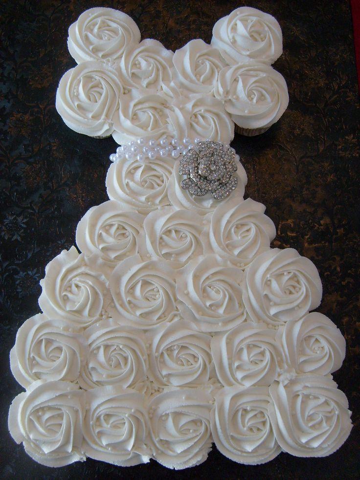 How To Make A Bridal Shower Dress Cake