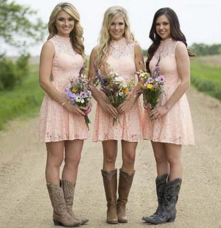 Country Wedding Bridesmaid Dress