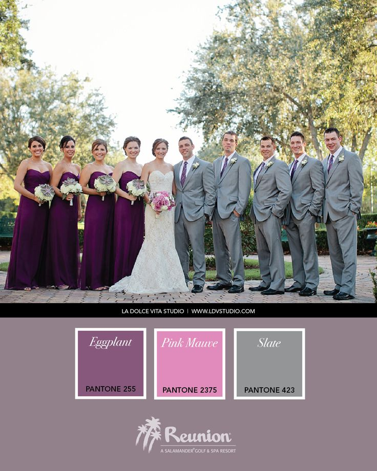 Awesome Wedding Colors With Purple Images Styles Ideas 2018 Color Eggplant Junglespirit Choice Image