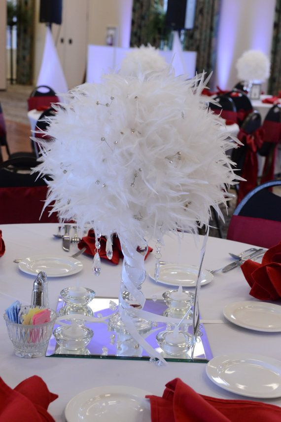 1000 Ideas About Feather Wedding Centerpieces On Emasscraft Org