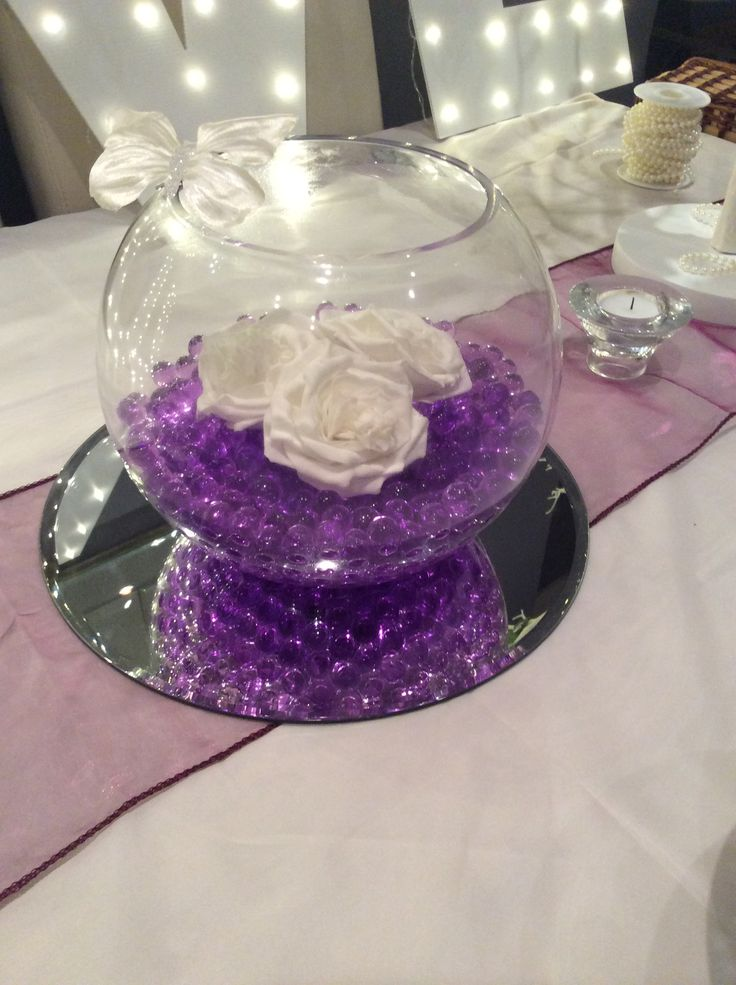 Fish Bowl Wedding Decorations