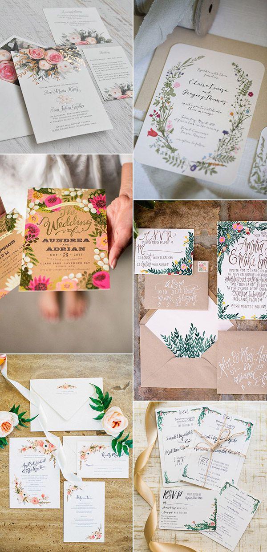 Garden Wedding Invitation Ideas – Garden Wedding Invitation Ideas