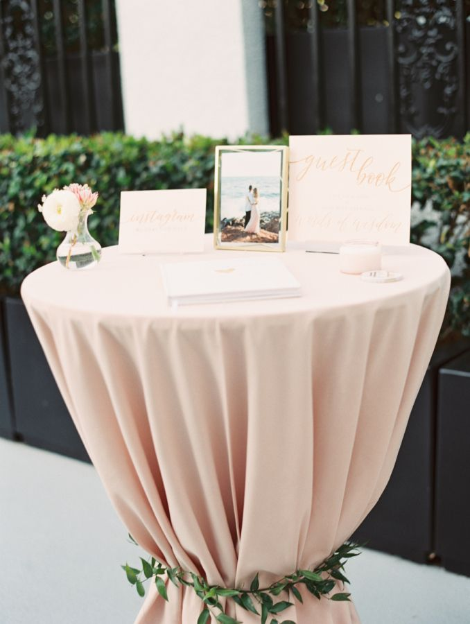 Guest Table Wedding