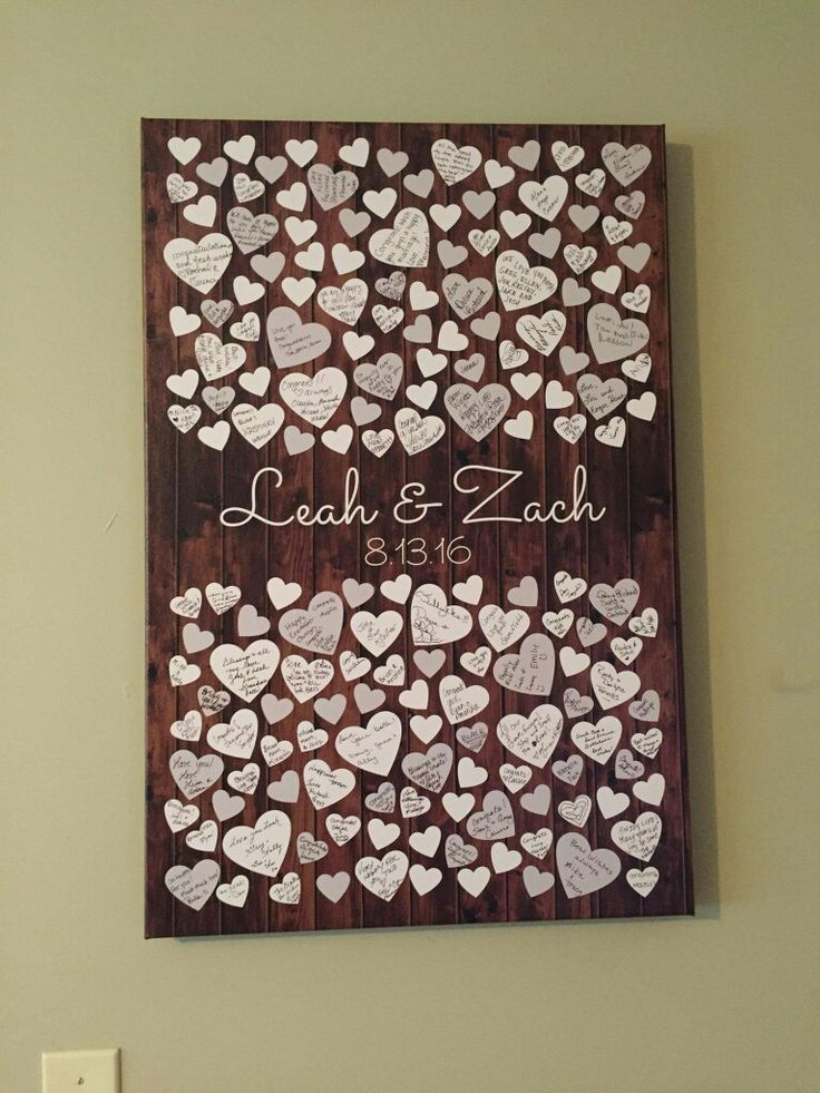 Guest Book Ideas For Wedding