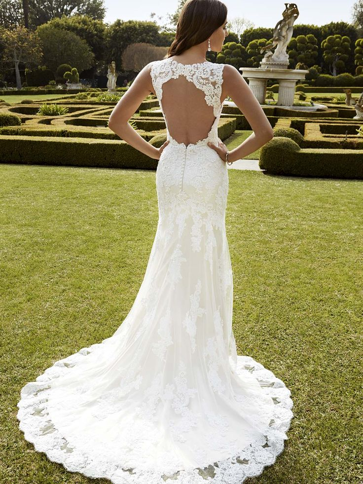 Lace Wedding Dress Pinterest