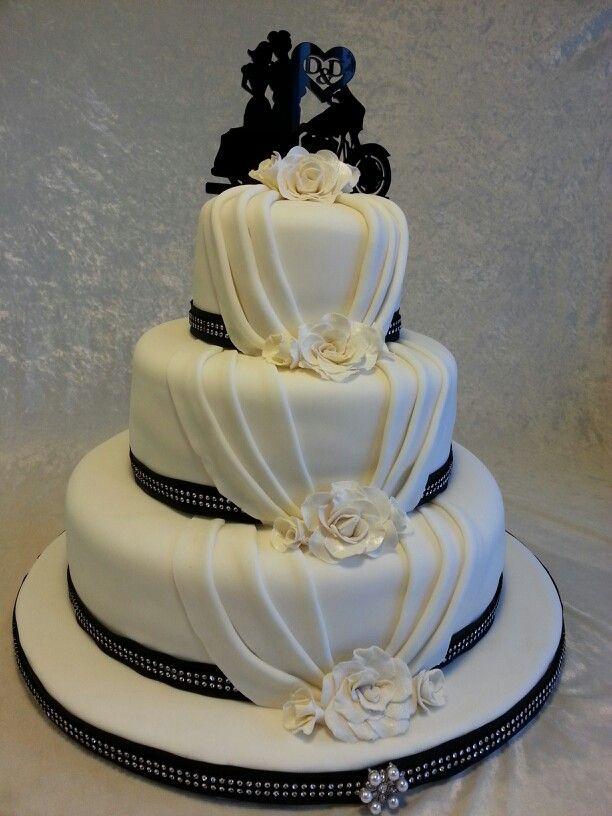 biker wedding cake ideas. Black Bedroom Furniture Sets. Home Design Ideas