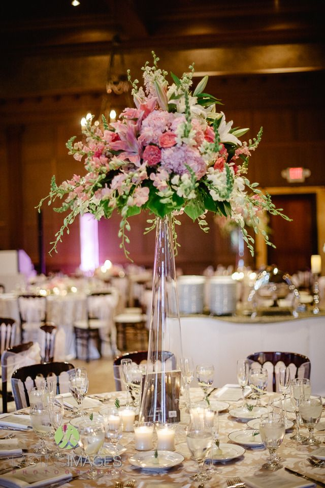 Floral Centerpieces Wedding Reception
