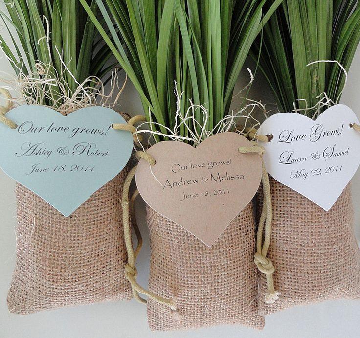 tree seedlings wedding favors - Wedding Decor Ideas