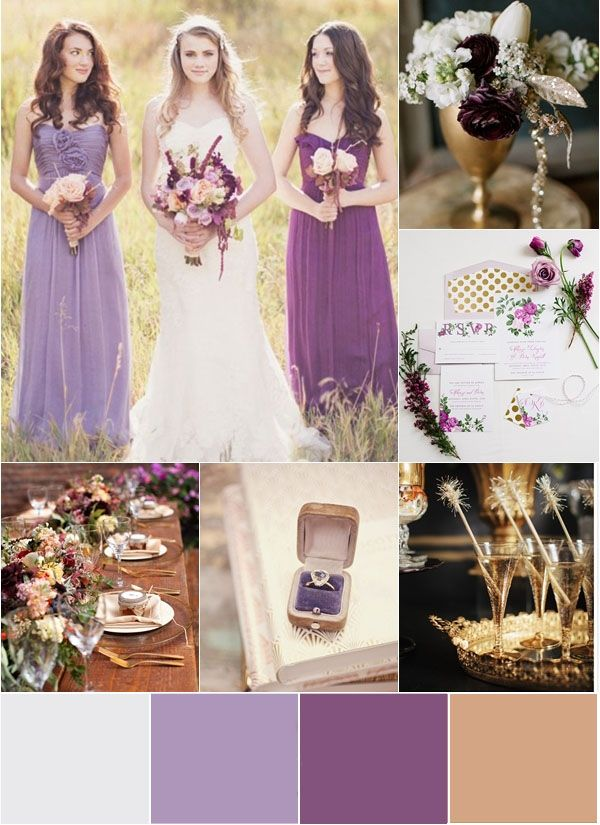 1000 Ideas About Purple And Gold Wedding On Emcraft Org