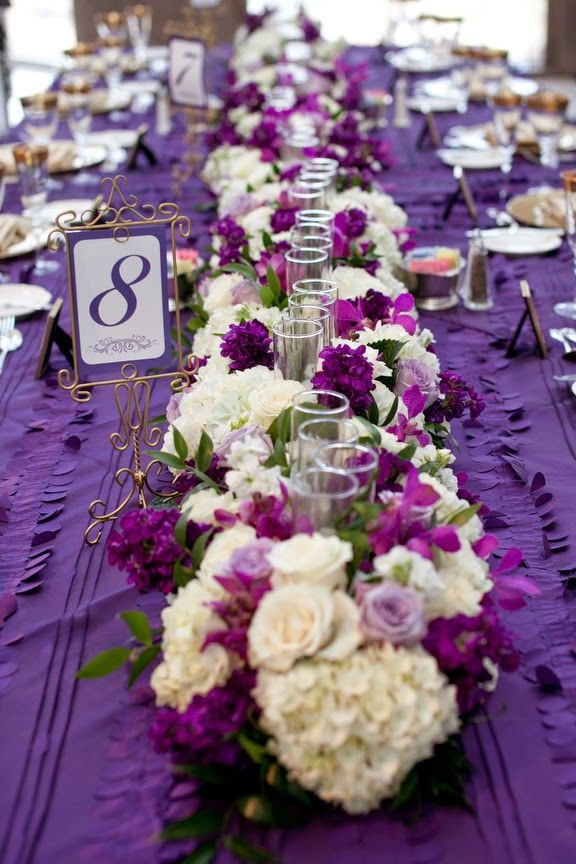 Awesome purple wedding centerpieces ideas photos styles ideas wedding centerpieces ideas purple image collections wedding dress junglespirit Images