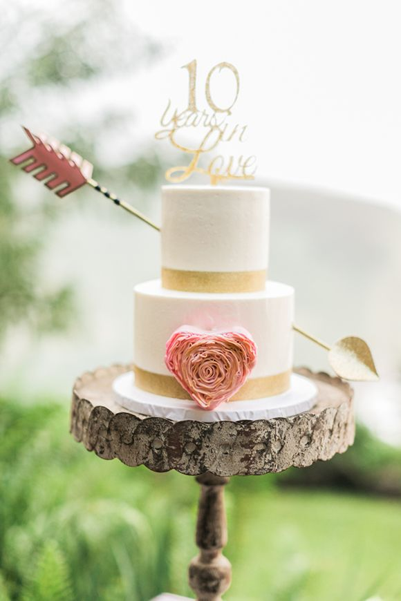 Wedding Vow Renewal Cake Ideas