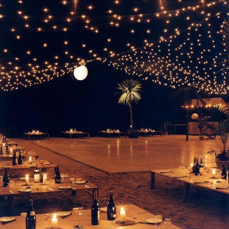 Dance Floor Lights Wedding