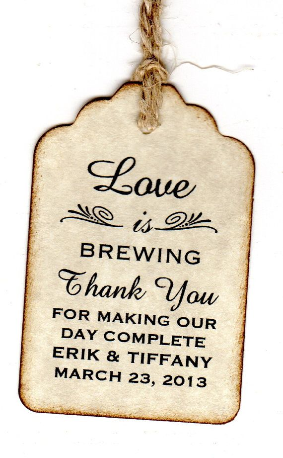 Wedding Gift Sayings Suggestions : Sayings For Wedding Favors Tags