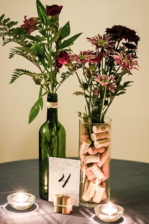 1000 Ideas About Wine Bottle Centerpieces On Emasscraft Org