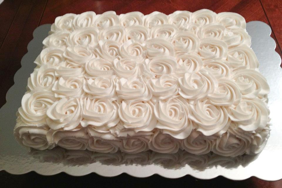 Wedding Sheet Cake Decorating Ideas