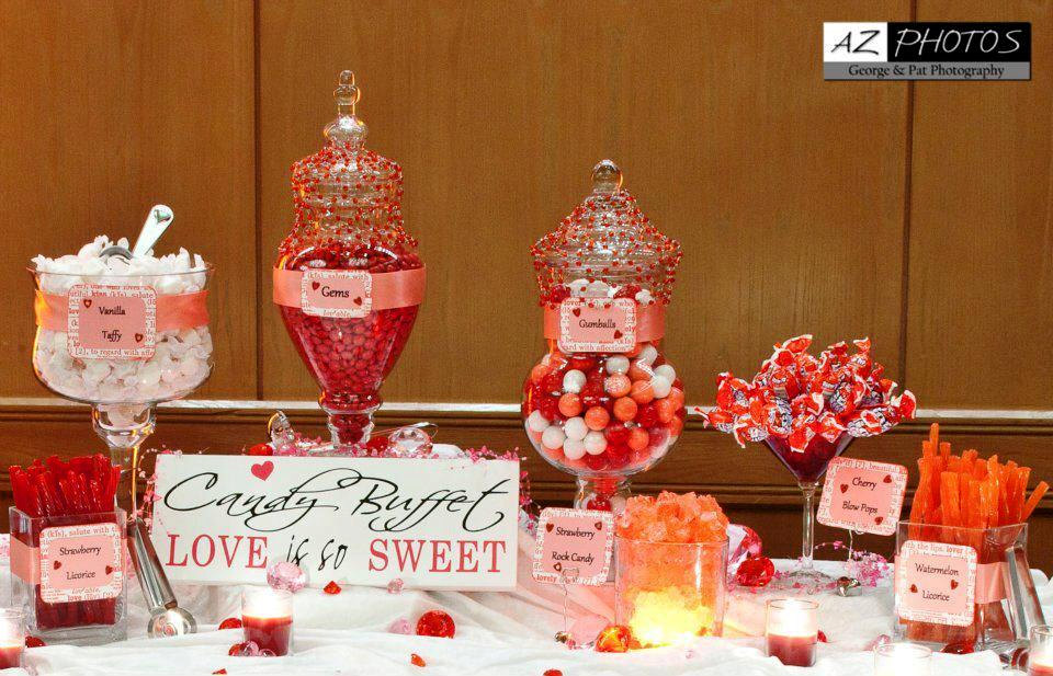 Buffet Table Ideas Wedding Reception. Rustic Table Decorations ...