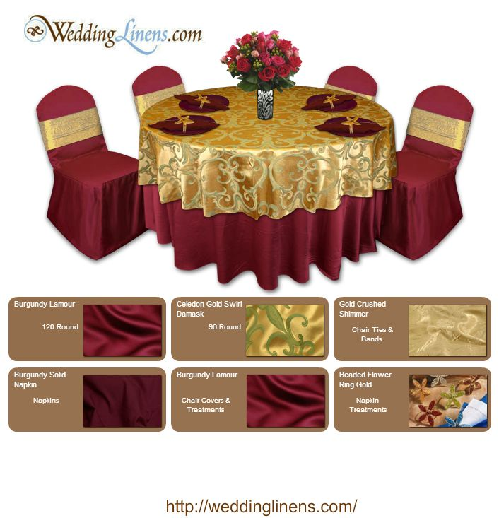 1000 Images About Gold Burgundy Table Decorations On Emasscraft ...