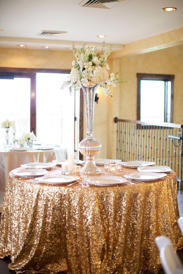 Gold wedding decoration ideas 1000 images about gold glitter wedding theme junglespirit Images