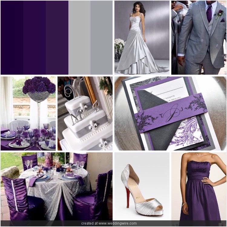 1000 Images About Grey U0026 Purple Wedding On Emasscraft Org