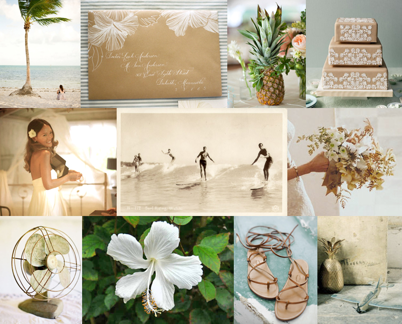 Hawaiian Themed Wedding