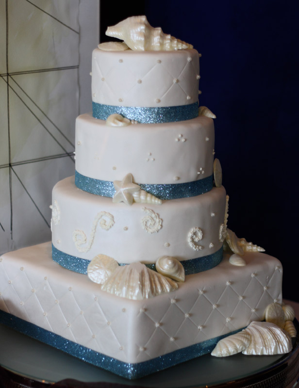 sea themed wedding cakes themed wedding cakes 19719