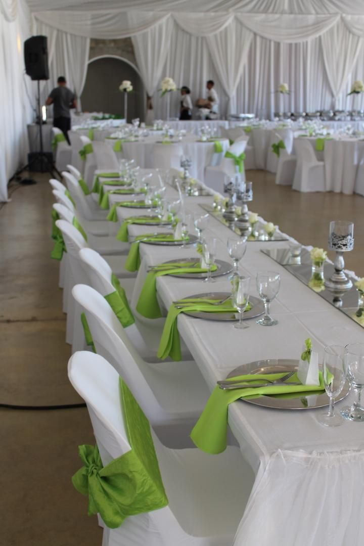 Wedding Decoration Ideas White And Green Gallery