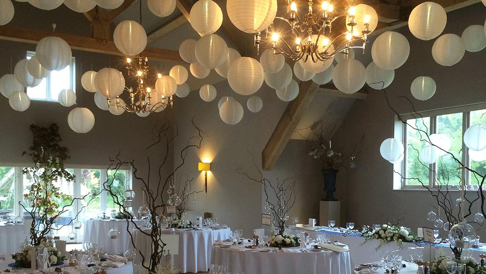 Hanging Lanterns For Wedding