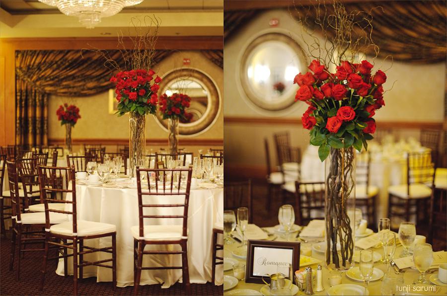red rose table centerpieces – Loris Decoration