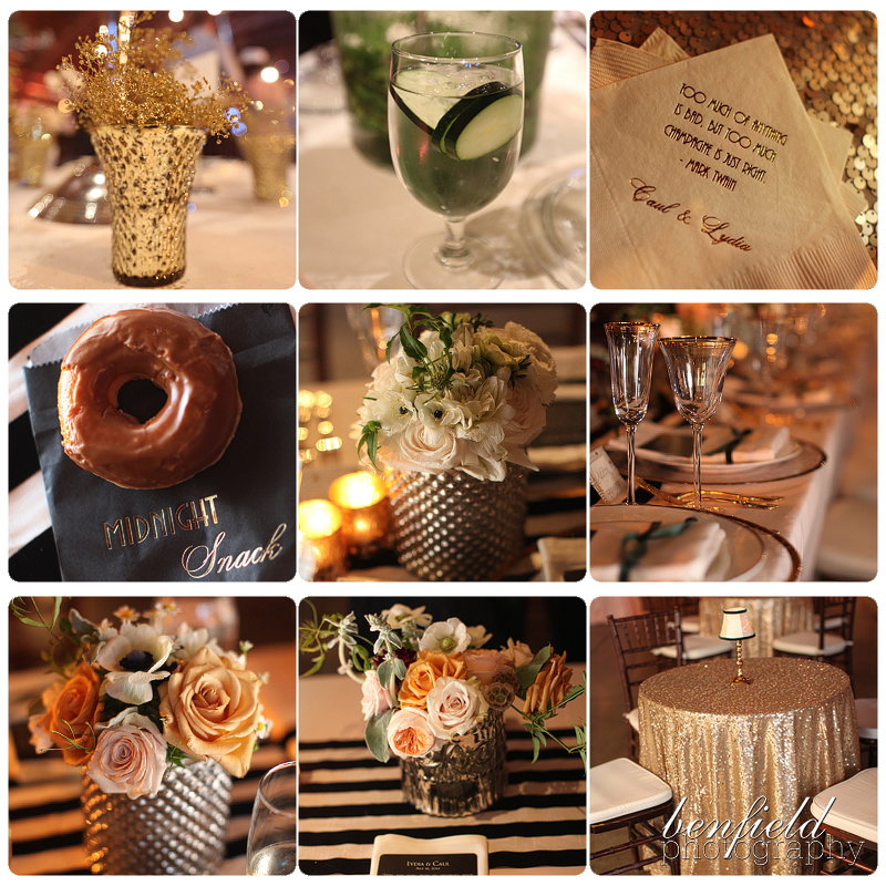 Art Deco Wedding Reception